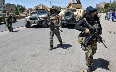 USA o ofensywie talibów: Afgańczycy muszą bronić się sami