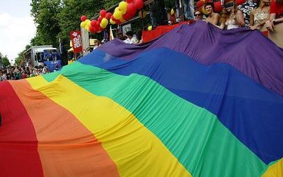 Tęczowa flaga - symbol środowisk homoseksualnych
