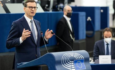 Mateusz Morawiecki w PE