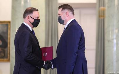 Prezydent Andrzej Duda powołał Przemysława Czarnka na ministra edukacji i nauki.