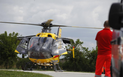 Lądowisko dla helikopterów.