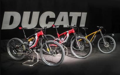 Nowe elektryczne rowery Ducati