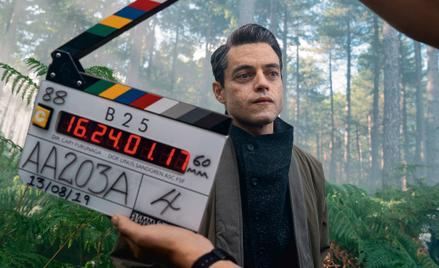 Rami Malek, jako Lucifer Safin, na planie najnowszego filmu o agencie Jej Królewskiej Mości Jamesie