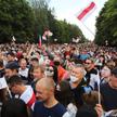 Wiec opozycji w Grodno