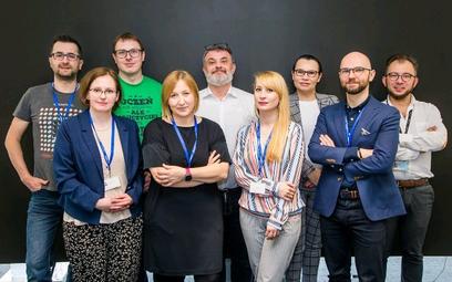 Uczestnicy debaty na temat dobrostanu cyfrowego (od lewej): Marcin Perfuński, dr Magdalena Rowicka,