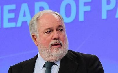 Miguel Arias Canete, komisarz Unii Europejskiej ds. energii, forsował twarde stanowisko wobec Gazpro