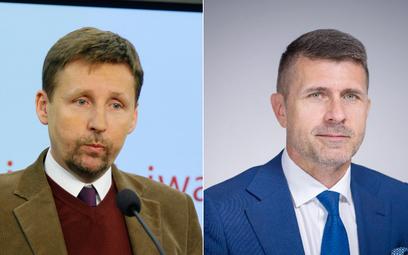 Marek Migalski (z lewej), Waldemar Wojtasik