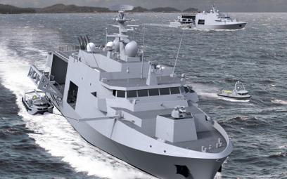 W Gdyni rozpoczęto budowę najnowocześniejszych okrętów przeciwminowych