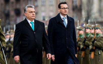 """Morawiecki u Orbana - """"Sojusz przeciwko Brukseli"""""""