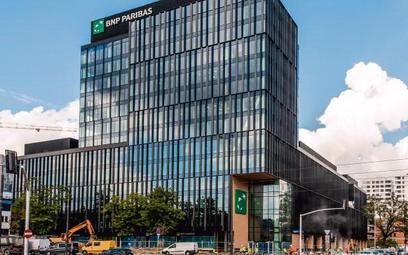 Bank BNP Paribas w nowej siedzibie na stołecznej Woli