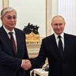 Prezydenci Kazachstanu i Rosji - Kasym-Żomar Tokajew i Władimir Putin - 21 sierpnia na Kremlu