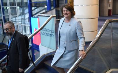 Arlene Foster, szefowa Demokratycznej Partii Unionistycznej (DUP)