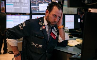 Znów ostre spadki na Wall Street