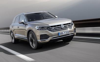 Genewa 2019 | VW Touareg V8 TDI: Nowa moc diesla