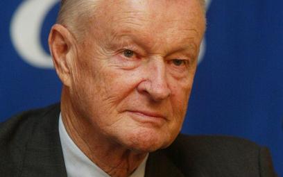 Zbigniew Brzeziński, politolog i sowietolog, były doradca prezydenta Jimmy'ego Cartera ds. bezpiecze