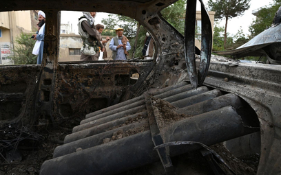 Talibowie w chińskiej telewizji: 7 cywilnych ofiar ataku USA