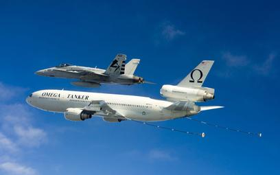 Firma Omega Air Refueling realizuje usługi tankowania powietrznego na rzecz Departmentu Obrony USA o