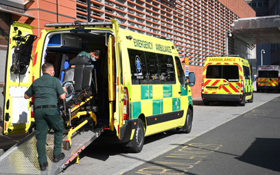 Brytyjscy ratownicy medyczni