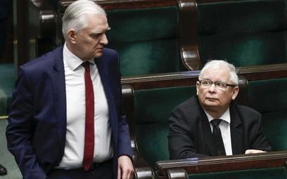 Jest porozumienie Kaczyńskiego z Gowinem. Wybory później