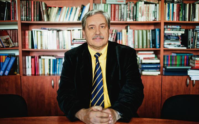 Jerzy Eisler, historyk, dyrektor warszawskiego oddziału IPN
