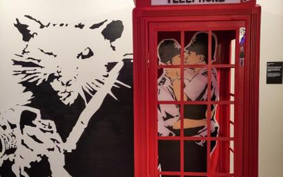 Ponad 100 prac Banksy'ego można zobaczyć w Centrum Praskie Koneser w Warszawie. Wystawa potrwa do 11