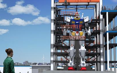 W Japonii powstaje chodzący robot wielkości 7-piętrowego bloku