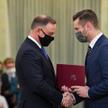 Kamil Bortniczuk odebrał dzisiaj akt powołania na ministra sportu i turystyki z rąk prezydenta