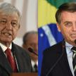 Prezydenci Meksyku i Brazylii - Andres Manuel Lopez Obrador i Jose Bolsonaro