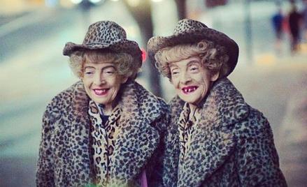 Bliźniaczki Marian i Vivian Brown żyjące w San Francisco nigdy się nie rozstawały / fot. Christopher
