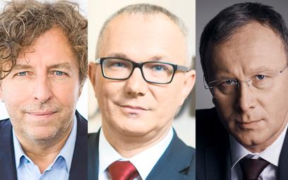 Grzegorz Hajdarowicz, Tomasz Jażdzyński, Bogusław Chrabota