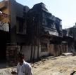Budynek w Karaczi, zniszczony na skutek katastrofy