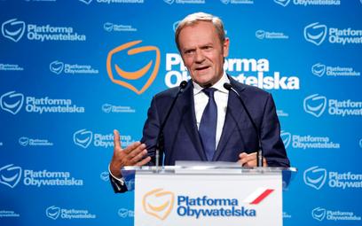 Tusk proponuje pakt o nieagresji na opozycji