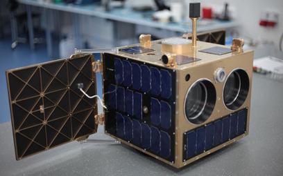 Platforma satelitarna HyperSat, nad którą pracuje właśnie Creotech. Jej premiera ma nastąpić w przys