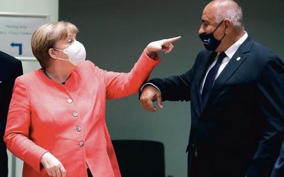 Maseczka ma zasłaniać nos – przypomniała Angela Merkel premierowi Bułgarii Bojko Borisowowi