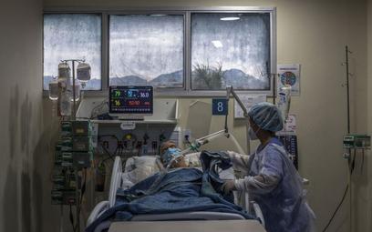 Koronawirus. Rio de Janeiro: 95 proc. zajętych miejsc w szpitalach