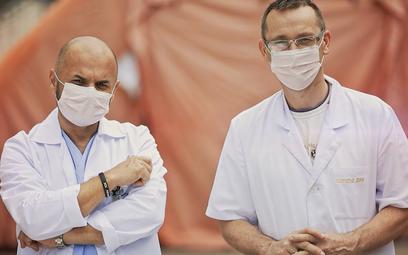 Personel medyczny ostrołęckiego szpitala fot. Archiwum UMWM