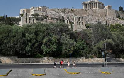 Ekstremalne upały ograniczają pracę Akropolu