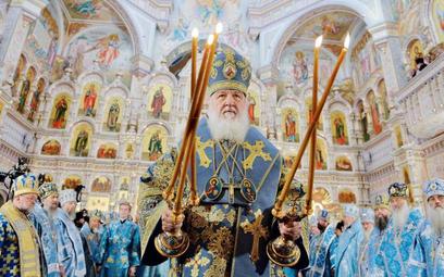 Patriarcha Cyryl I odprawił nabożeństwo w mińskiej cerkwi Wszystkich Świętych