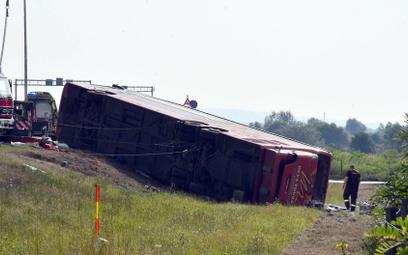 Wypadek autokaru w Chorwacji. Zginęło 10 osób
