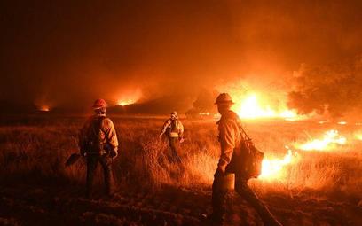 Santa Barbara zagrożona przez ogień
