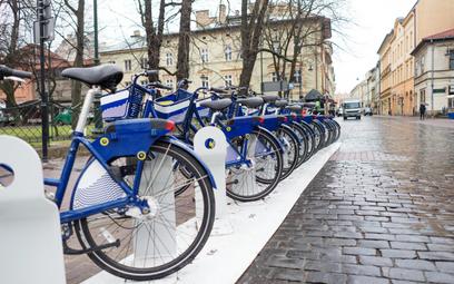 System roweru miejskiego zadebiutował w Krakowie w 2016 roku