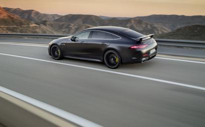 Ceny |  Mercedes AMG GT 4-Door Coupe: Dużo, ale nie najwięcej