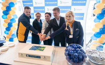 Ryanair – 12 tras na otwarcie bazy w Katowicach
