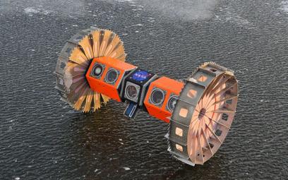 Podlodowy robot w akcji
