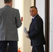 Marian Banaś w piątek odwiedził marszałek Sejmu, Elżbietę Witek