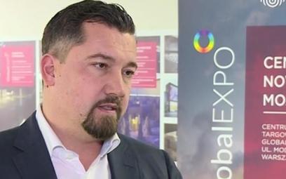Bartosz Sosnowski, wiceprezes Centrum Targowo-Kongresowego, operatora GlobalExpo.