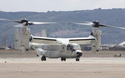 Pierwszy CMV-22B po przylocie do bazy North Island, w której stacjonuje dywizjon VRM-30. Fot./US Nav