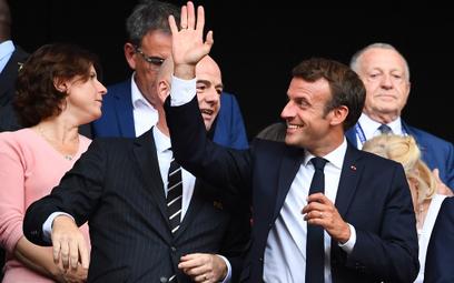Macron: Rasizm i homofobia na meczu? Przerwać spotkanie