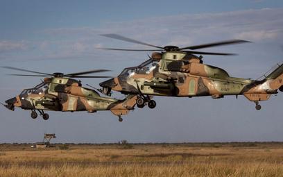 Australijskie śmigłowce bojowe Tiger ARH. Fot./Airbus.