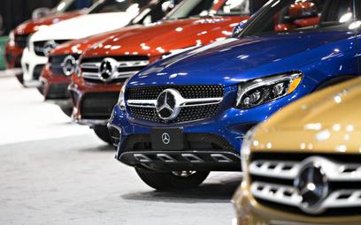 Amerykanie sprawdzają Mercedesa